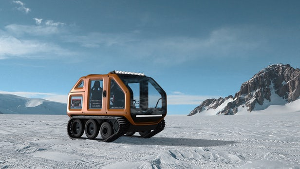 venturi antarctica vehicle