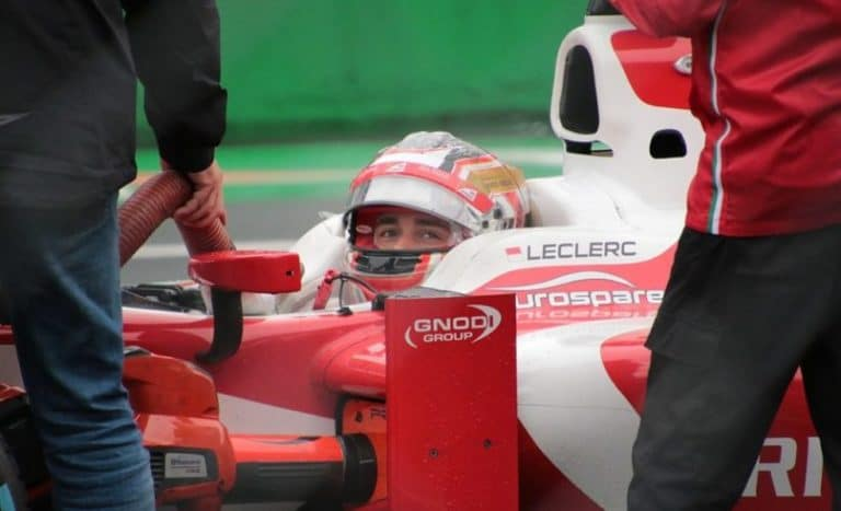 A frustrating fifth place for Charles Leclerc in China