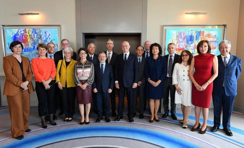 A glimpse at the 2019 Monegasque Diplomatic Corp Conference