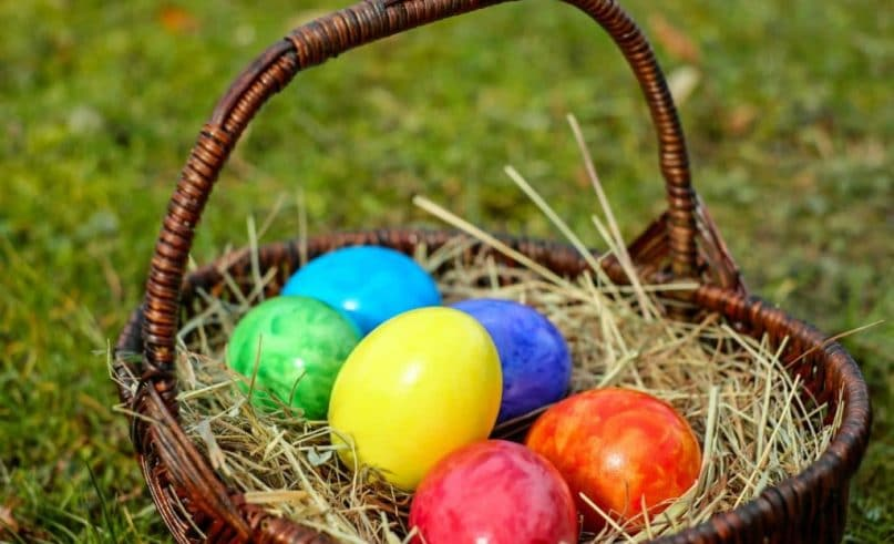 Easter egg hunts in the Principality? Not one, but two!