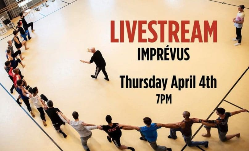The Monte-Carlo Ballet's first ever livestream!