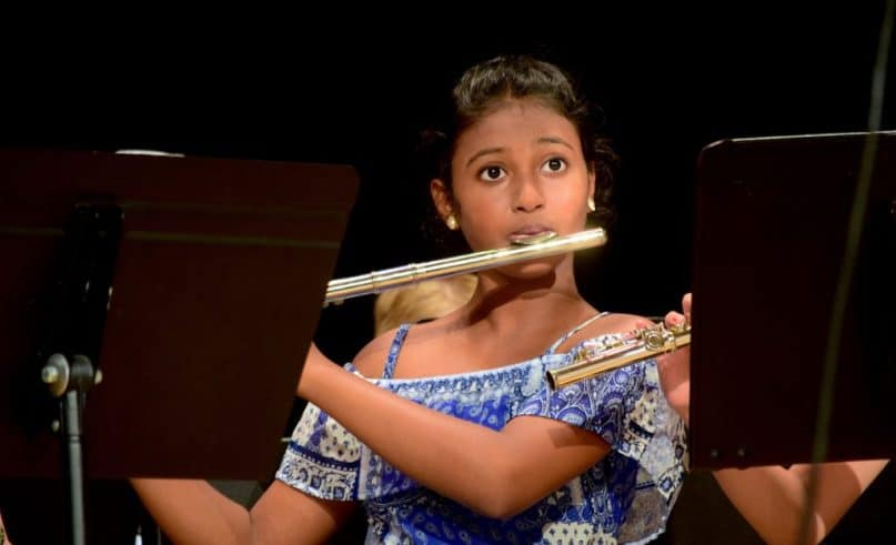 The students of the Turquois Foundation give an exceptional concert