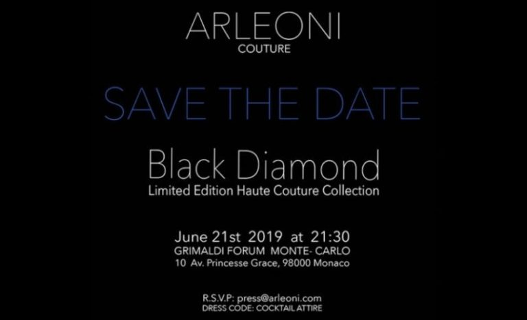 Arleoni to display their latest collection at the Grimaldi Forum