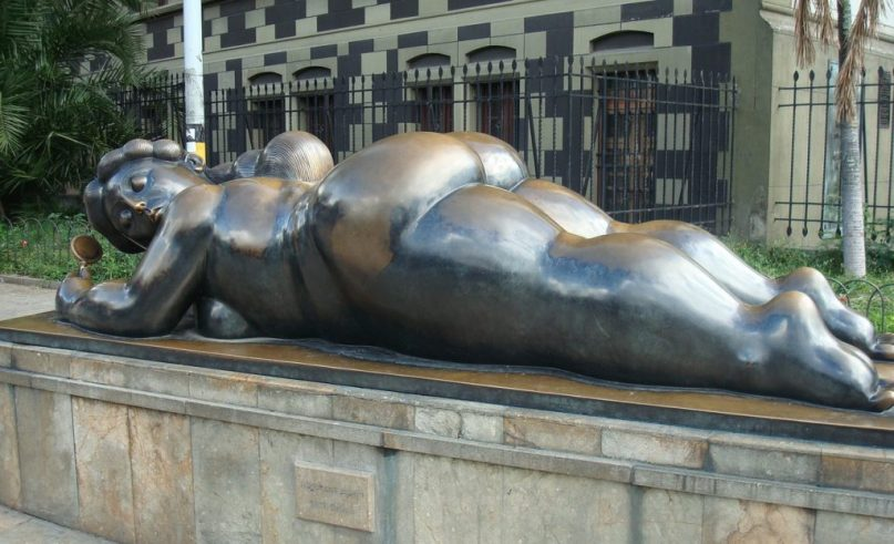 Fernando Botero on exhibit in the heart of Monaco