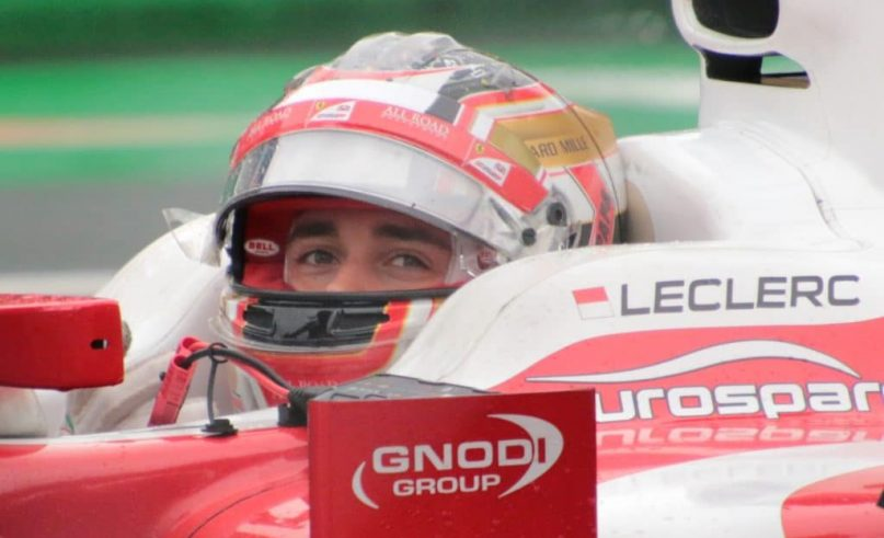 F1 - German GP- A down day for Charles Leclerc