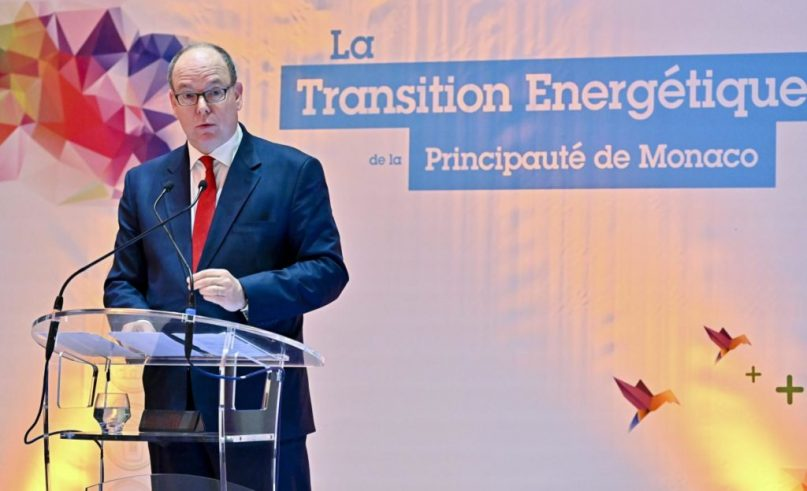 Prince Albert's message about ecology starts at home