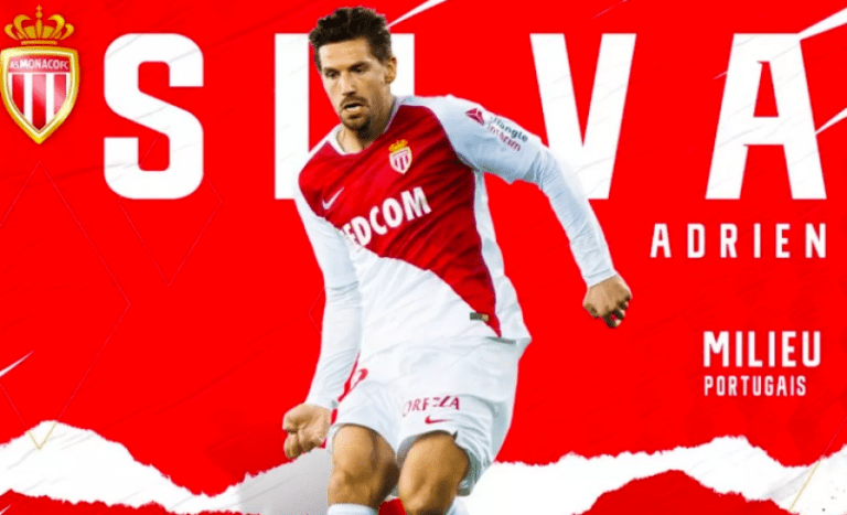 Mercato- Adrien Silva rejoins Monaco on loan