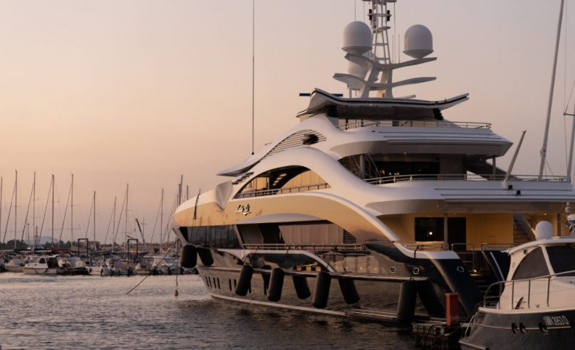 Monaco Yacht Show on September 25th