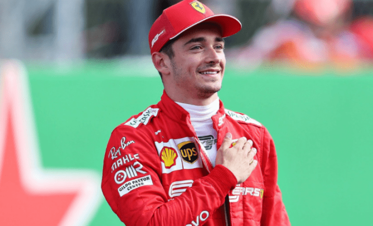 Prince Albert II is all in on young Charles Leclerc