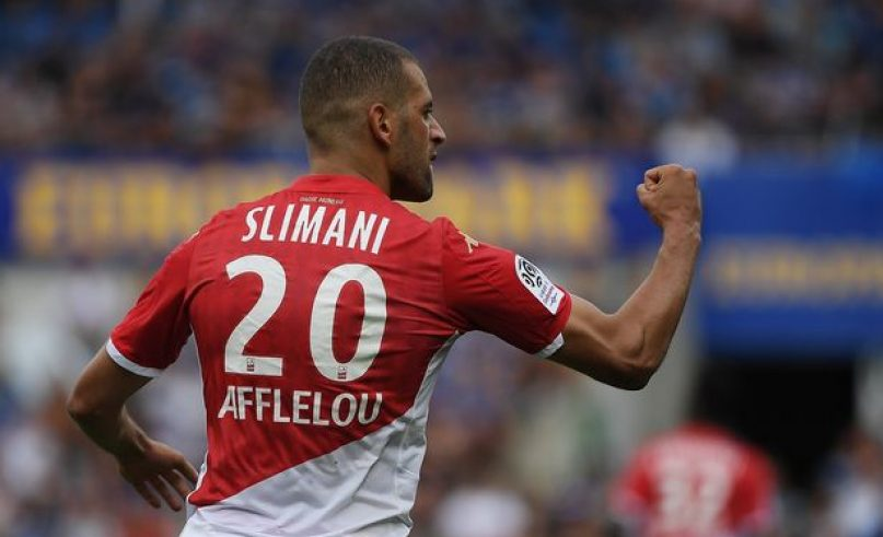 L1 - J10- Slimani and Ben Yedder push ASM atop Rennes (3-2)