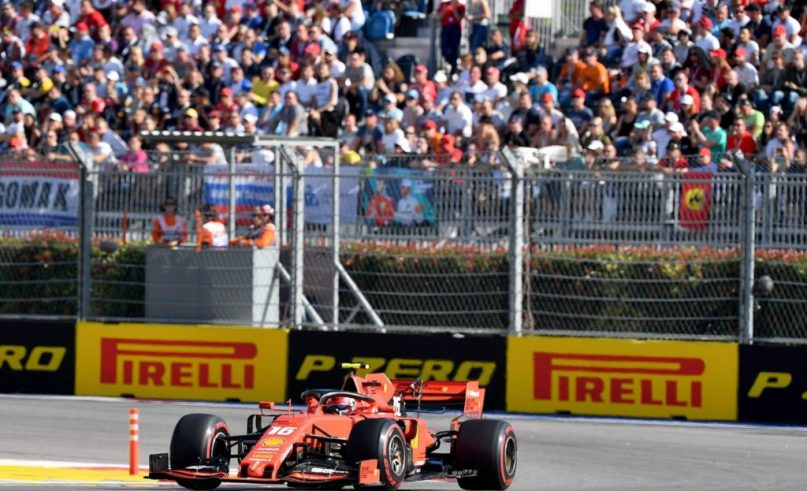 F1- Charles Leclerc finished his season well in Abu Dhabi (3rd)