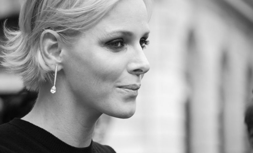 Princess Charlene of Monaco in the United Arab Emirates