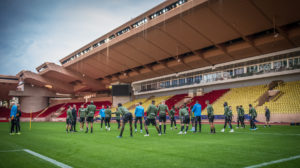 AS Monaco training ahead of the game with Reims