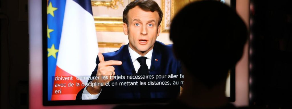 emmanuel macron announcement confinement lockdown coronavirus covid 19 measures