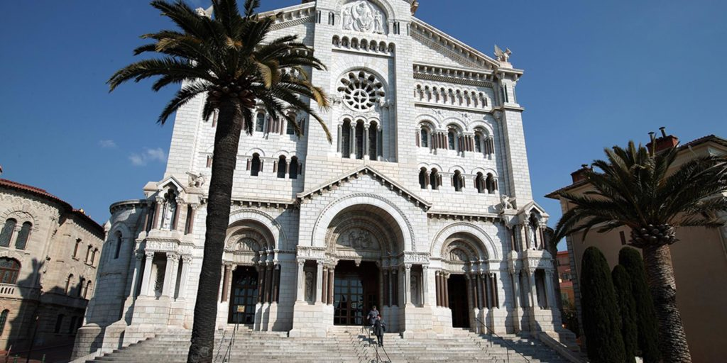 monaco cathedral virtual mass coronavirus covid 19