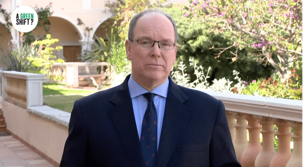 Prince Albert of Monaco Earth day