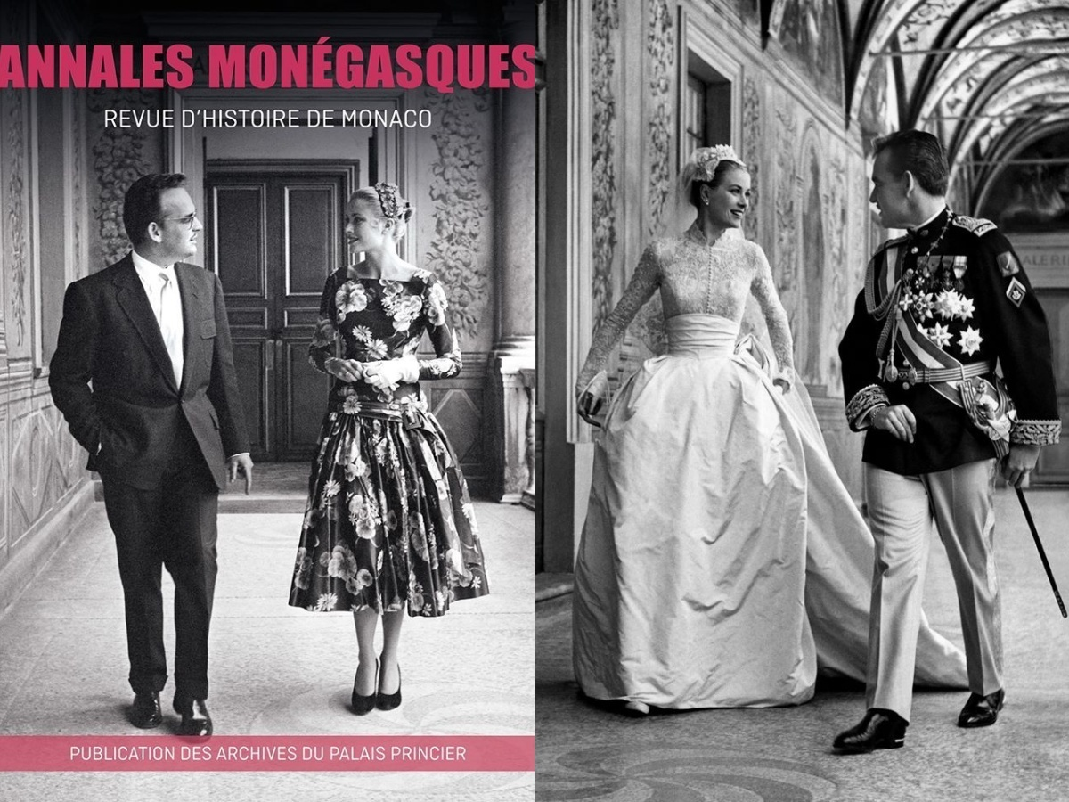 recreation photo grace kelly prince rainier iii