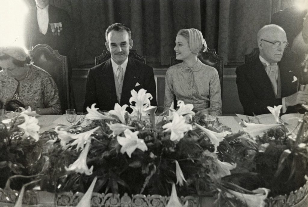wedding lunch prince rainier iii grace kelly