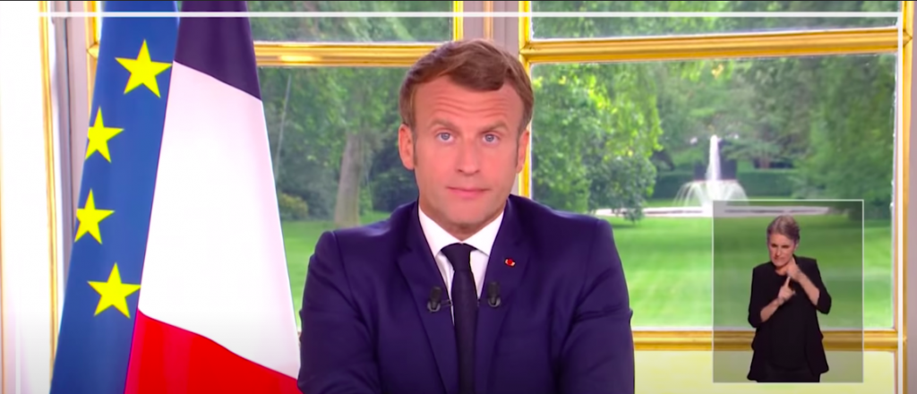 Emmanuel Macron 4th address to the nation facing COVID-19