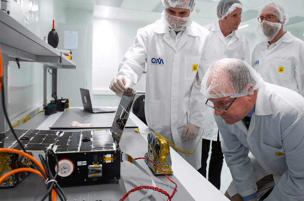 Monaco's first nanosatellite soon to launch into space