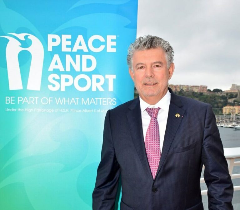 Joël Bouzou, President of Peace and Sport