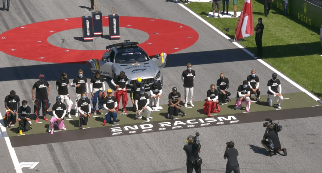 F1 End Racism
