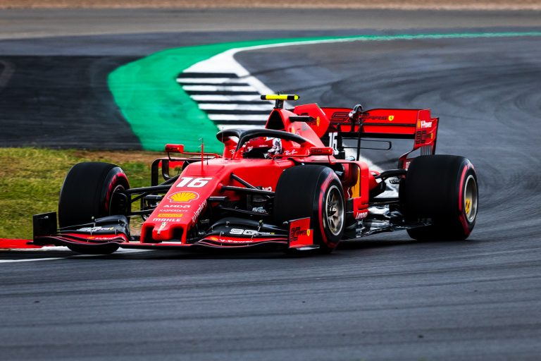 Charles Leclerc Silverstone