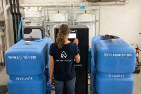 FGWRS, Monaco water recycling