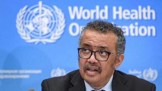 world health organisation chief