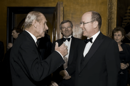 Prince Philip and Prince Albert