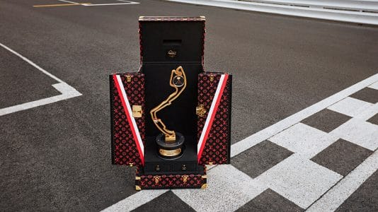 Louis Vuitton Monaco GP suitcase