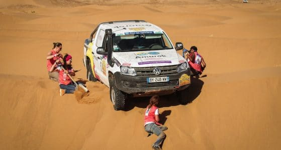 Rallye des Gazelles Audace and solidarity