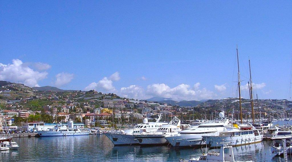 San Remo Port Italie