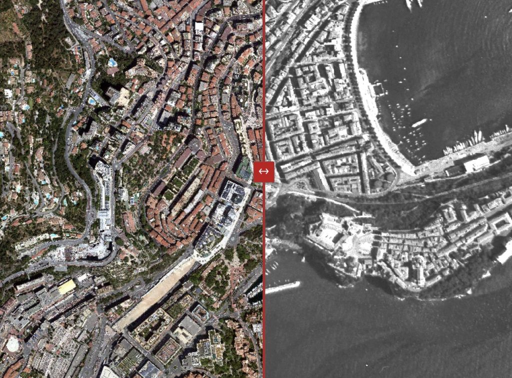Monaco before after